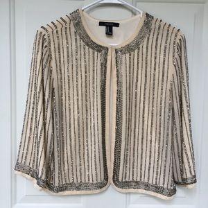 Forever 21 Beaded & Sequined Embellished Jacket